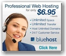 Web hosting with Blue Host