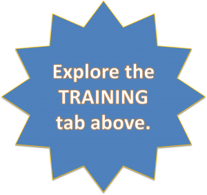 Explore the TRAINING offered on this site