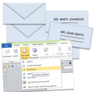 Mail Merge Labels, Letters, Forms, and More video tutorials